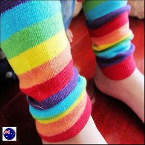 8aba653cd388e Image is loading Girls-Boy-Baby-Kids-Children-Rainbow-Colorful-Striped-