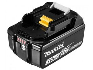 MAKITA batteria litio 18v 3ah lxt originale con led indicatore carica BL1830B