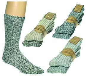 1 Paar Norwegersocken mit Schafwolle 3er-Teilung Winter-Socken Modell CH 581