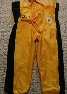 PITTSBURGH-STEELERS-GAME-USED-PANTS-STEELERS-2002-GAME-PANTS-SIZE-28-BERLIN-WISC