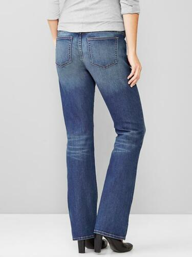 S medio Nwt Cut Panel Maternity Perfect Jeans Boot 4 Full Womens 427338 Gap lavaggio 4vwqfUwOZ