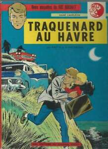 TIBET-RIC-HOCHET-N-1-TRAQUENARD-AU-HAVRE-2eme-EDITION-1967