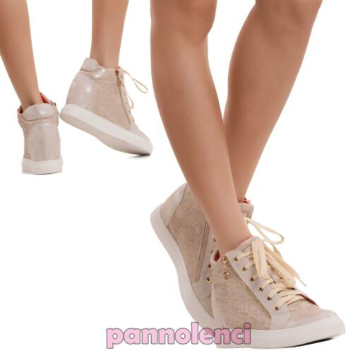 7 Donna 152011 Interna Sneakers Scarpe Zip Nuove Sportive Zeppa Ginnastica nwqHZxdYZO