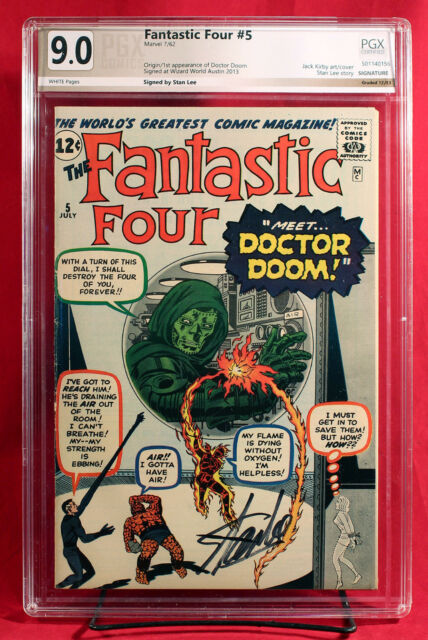 Fantastic Four 5 Jul 1962 Marvel For Sale Online Ebay