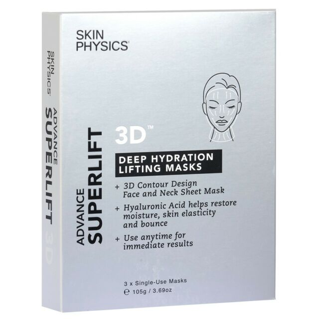 SKIN PHYSICS SUPERLIFT ADVANCE - 3D DEEP HYDRATION MASK 3 PACK