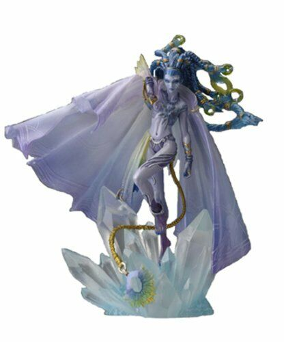 FINAL FANTASY MASTER CREATURES Vol.3 Shiva Painted PVC Figure SQUARE ENIX Japan
