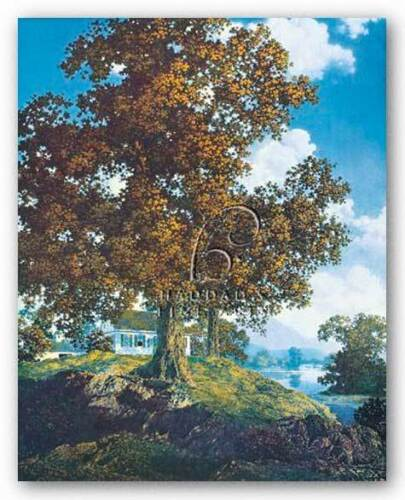 MUSEUM ART PRINT Peaceful Valley Maxfield Parrish