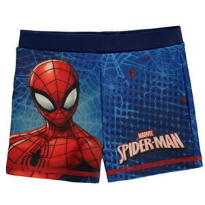 Boys Spiderman Swimming Trunks Shorts Pants Ages 2 through to 10 New With Tag