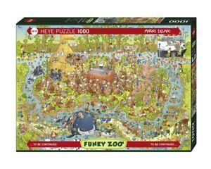 MARINO DEGANO - FUNKY ZOO : AUSTRALIAN HABITAT - Heye Puzzle 29870 - 1000 Pcs.