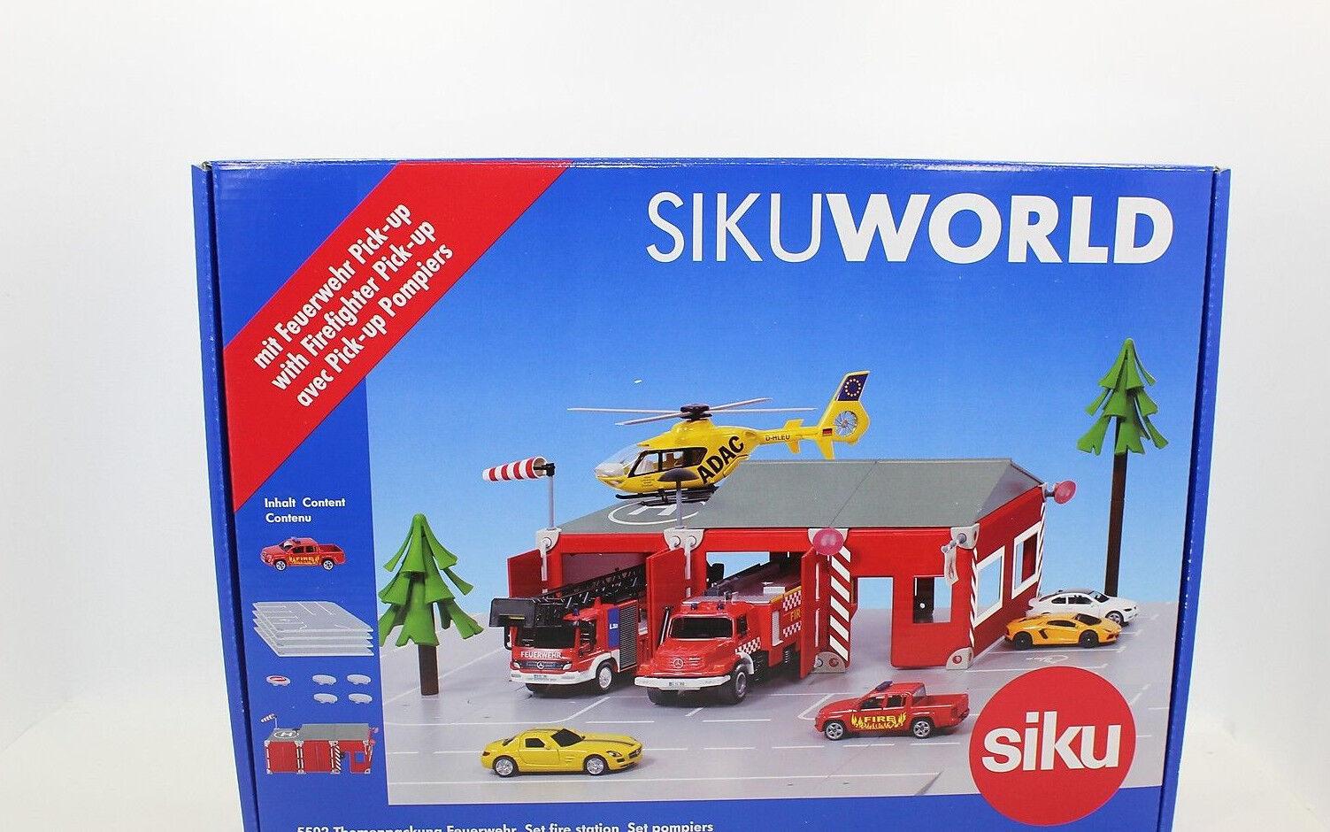 Siku 5502 sujets boîte pompiers Neuf en OVP