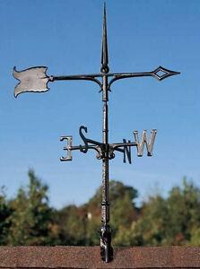 Weathervanes gt see more whitehall 30 spear weathervane rooftop black
