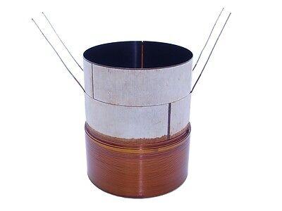 """3"""" Memphis MoJo Voice Coil - D2 Ohm - Black Aluminum - AVC302D2"""