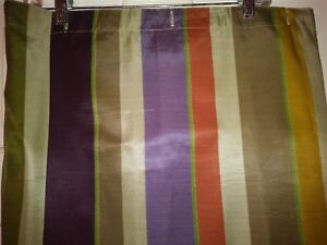 Image Is Loading Echo Creative Bath Shower Curtain Stripes 100 Polyester