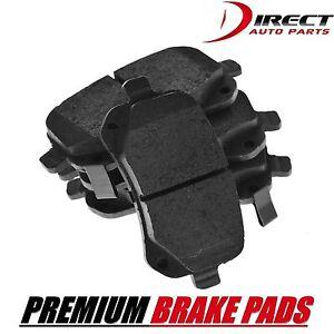 Rear BRAKE PADS Complete Set Rear Disc Brake Pad Semi-Metallic Pad