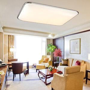 Warmweiß 72W LED Ultraslim Deckenleuchte Schlafzimmer Deckenlampe Wohnzimmer