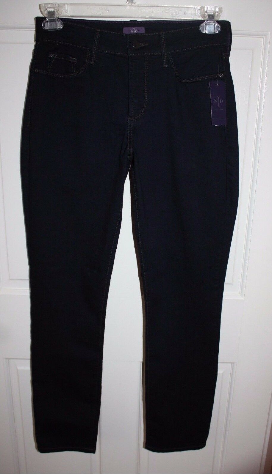 NWT Womens NYDJ Not Your Daughters Jeans Dark bluee Jeans Size 8