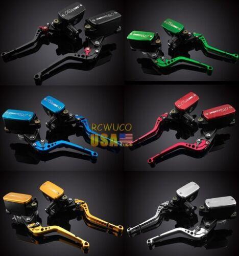 6 Color Cluth Brake Levers Master Cylinder Reservoir For Yamaha V-MAX 2009 10 11