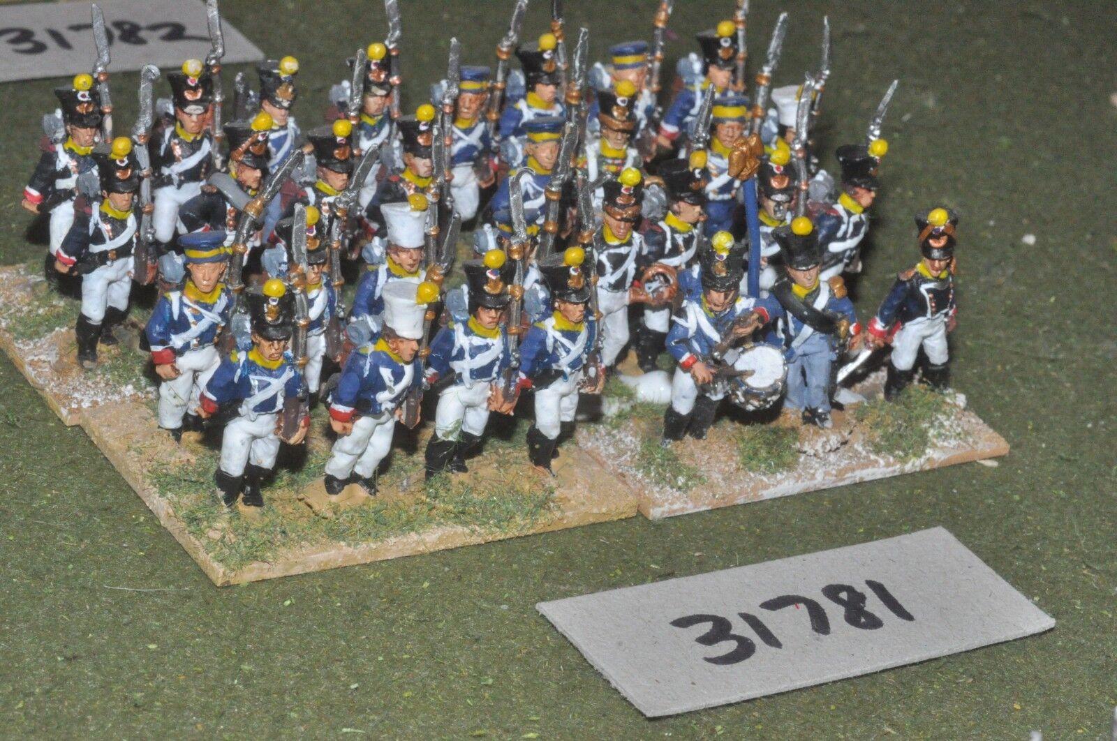 25mm napoleónicas francés-Guard 31 figuras-INF (31781)