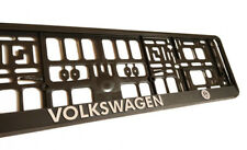 2 x Cadillac 3D Euro Size License Number Frame Plate Holder 520 110