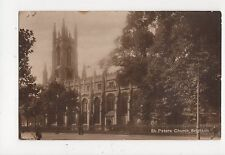 St Peters Church Brighton Vintage RP Postcard 355a