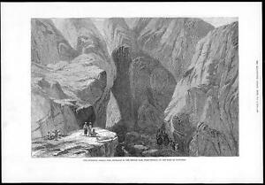 1878-Antique-print-AFGHANISTAN-WAR-KHOJAK-PASS-Pakistan-Pershin-Kandahar-151
