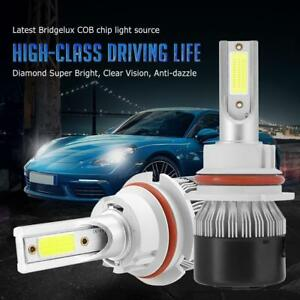 1Pair-HB5-9007-76W-Car-LED-Headlight-Conversion-Kit-Bulb-7200LM-Hi-Low-6000K-SPD