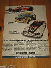 FERRARI FIAT ABARTH 131 RALLY LANCIA STRATOS=ANNO 1977=PUBBLICITA'=ADVERTISING=