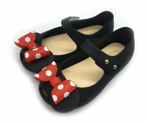 b3114468bd407 Details about Mini Melissa Jelly Sandal Mickey Minnie Bow Tie Girl Princess  Comfortable Shoes