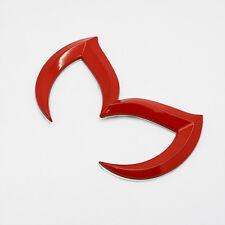 Mazda 3D Red Bat Batman Logo Car Vehicle Emblem Badge Sticker Decal 3 5 6 RX-8