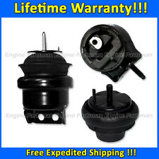 96-1999 Taurus /& Sable 3.0L Vin U 1 /& 2 SOHC A//T Hydraulic Motor Mounts 3pc Kit