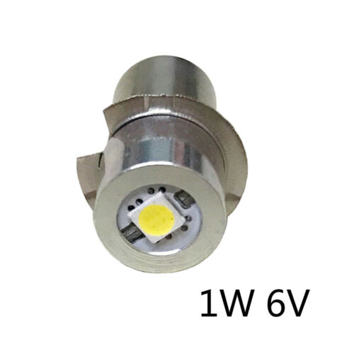 P13.5S Upgrade LED Bulb For Flashlight PR2 Replacement Bulb AA 2 3 4 C//D Cell P