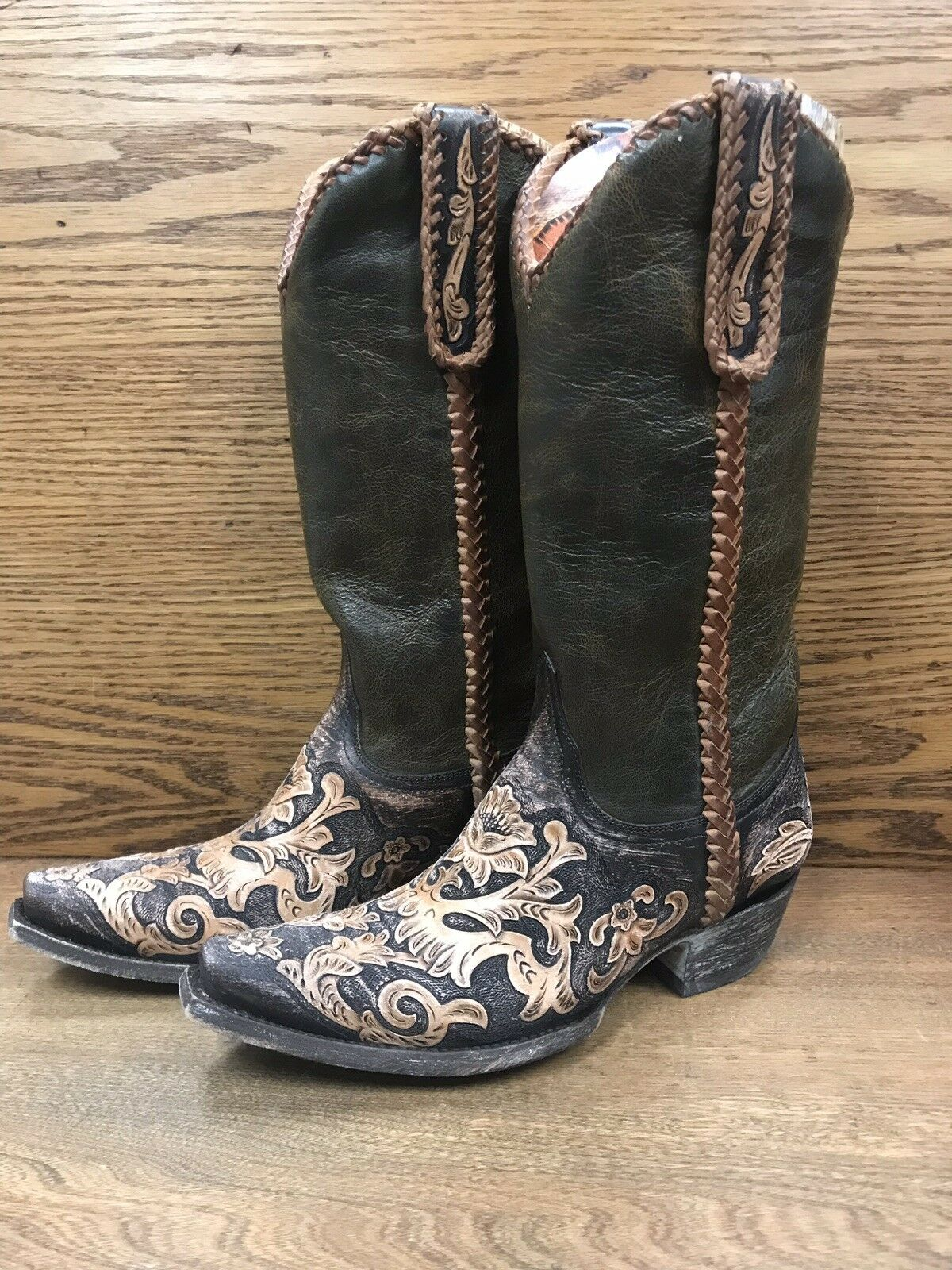 """NEW    Old Gringo Boots    SONIA 13"""" Size 8"""