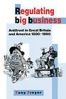 Regulating Big Business: Antitrust in Great Britain and America, 1880 - 1990 by Tony Freyer (Paperback, 2008)