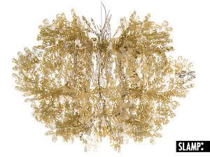 Lampadario Fiorella Slamp : Lampadario lampada a sospensione fiorella slamp oro gold ebay