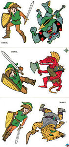 The-Legend-of-Zelda-3-Sticker-Nintendo-NES-Retro-Adventure-of-Link-Zelda-2