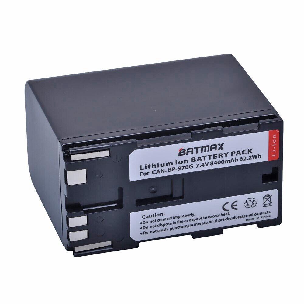 1X Battery 8400Mah for Canon Bp-970G Bp-975 C100 Eos C100 Mark Ii C300 Eos C300