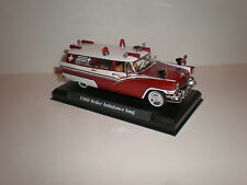 1/43 1956 Ford Weller ambulance Handbuilt