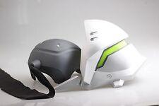 New Overwatch  Genji  Helmet Prop cosplay helmat  LED mask ow cos props