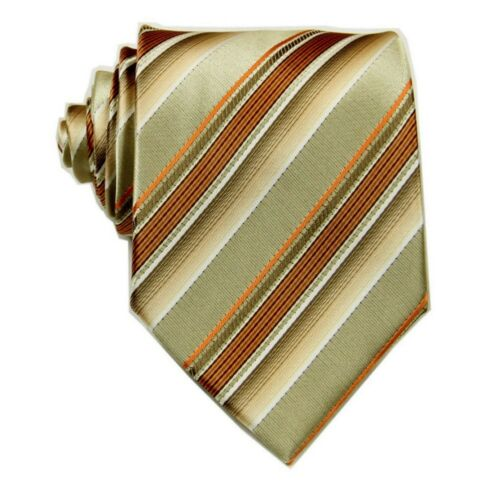 D.berite Multi-color Striped Men/'s 100/% Silk Groom Party Tie Classic Necktie F58