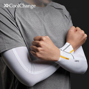 Ice Fabric Summer UV Protection Running Breathable Arm Sleeves Outdoor Sports