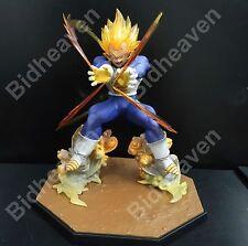 DBZ Dragon Ball Z Super Saiyan Vegeta Battle State Final Flash Action Figure Toy