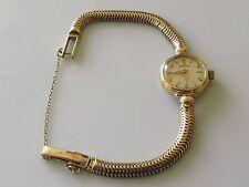 Ladies Omega 9ct yellow gold manual winding wrist watch