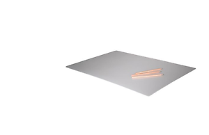 IKEA PROJS Desk Protector Rectangular Desk Pad Table TRANSPARENT ...