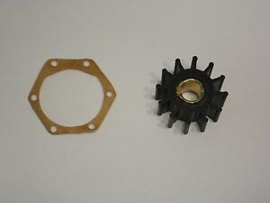 Impeller and 6 Hole Gasket Only Volvo Penta 875575 Sierra 18-3075