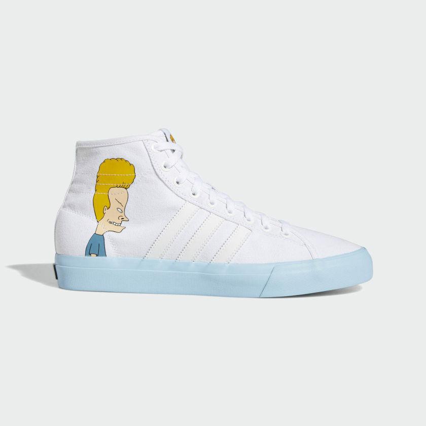 Adidas x Beavis & Butthead - Matchcourt High   DB3379 - Mens shoes   White
