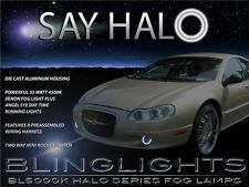 2002 2003 2004 Chrysler Concorde Halo Fog Lamps Angel Eye Driving Lights+Harness