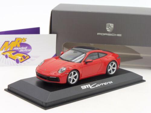 carrera 2 año 2019 rojo teja 1:43 992 Minichamps wap0201740k # Porsche 911
