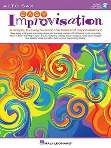 Easy-Improvisation-For-Alto-Sax-by-NEW-Book-FREE-amp-FAST-Delivery-Paperback