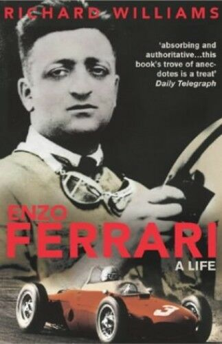 1 of 1 - Enzo Ferrari: A Life by Williams, Richard 0224059866 The Cheap Fast Free Post