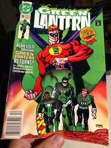 1 DC Comic Green Lantern 50th Anniversary Dec 1991